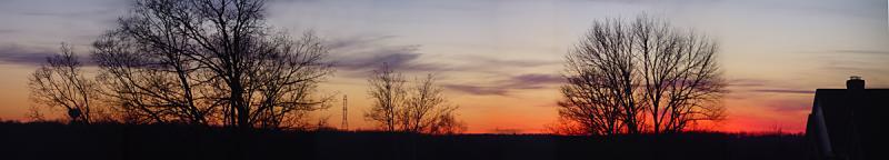 28 sunset pano