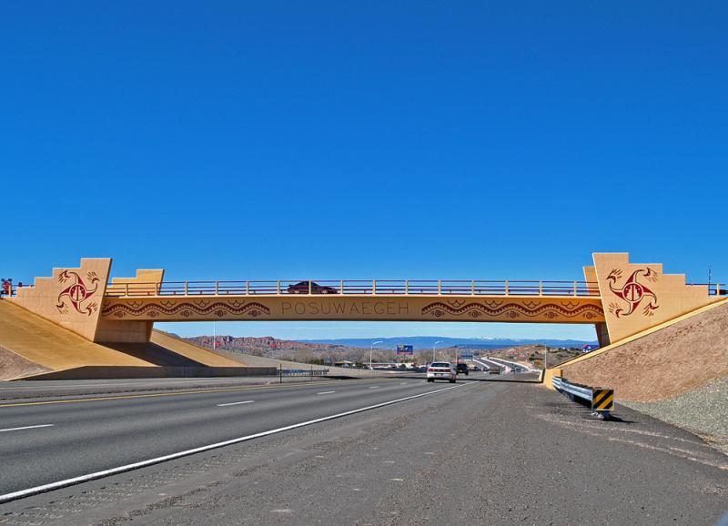 Pojoaque overpass