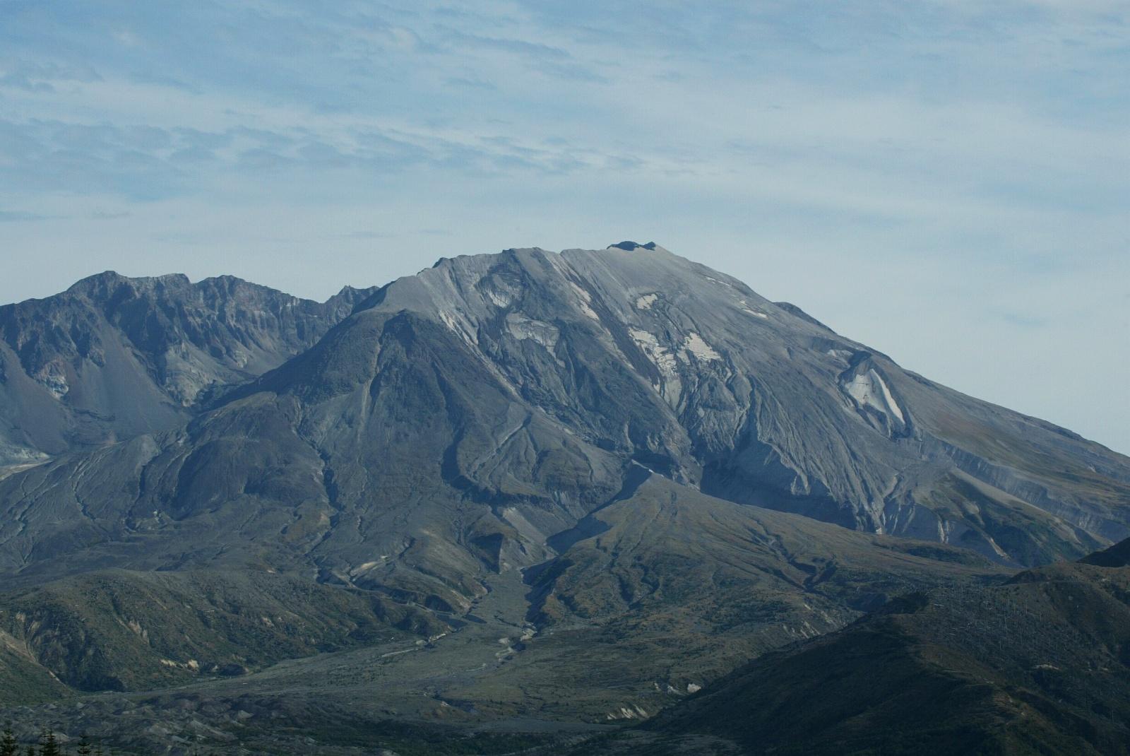 Mt. St. Helens Closeup view