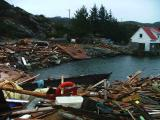 Vikso after the Tsunami weather conditions were extreme also on the westcoast of Norway
