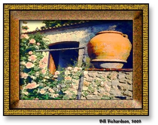 convent pot crackle frame