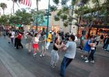 Dancing On the promenade, Santa Monica