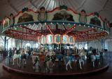 Carousel built in 1922 - Santa Monica Pier