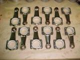 Set of titanimun rods  bearings ready for instalation.JPG