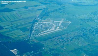 2003 - Sebring Airport, Florida airport aerial stock photo #5266