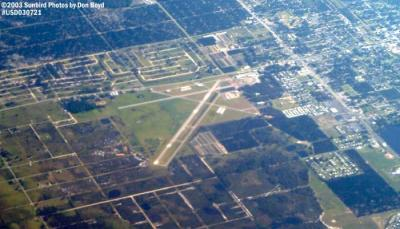 2003 - Avon Park Municipal Airport aerial stock photo #5268