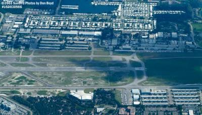 2003 - west portion of Ft. Lauderdale Executive Airport (FXE) airport aerial stock photo #7202