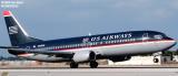 US Airways B737-401 N425US aviation stock photo #2993