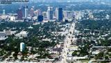2003 - downtown Ft. Lauderdale landscape aerial stock photo #7192