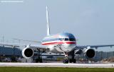 American Airlines B757-223 aviation stock photo