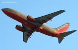 Southwest Airlines B737-7H4 N735SA aviation stock photo