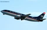 US Airways B737-4B7 N442US aviation stock photo