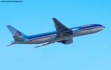 American Airlines B777-223/ER N770AN aviation stock photo