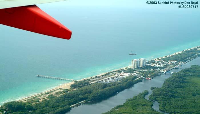 2003 - Dania Beach aerial stock photo #5264