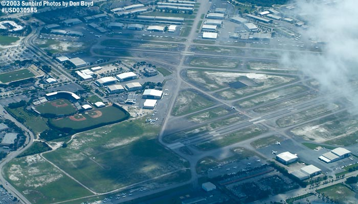2003 - Ft. Lauderdale Executive Airport (FXE) airport aerial stock photo #7200