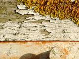 Flakey Paint, Rust & Lichen