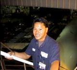 Karlton (Class of 1991) from Advanced Explorer to AQ flight line Mechanic & Advisor!