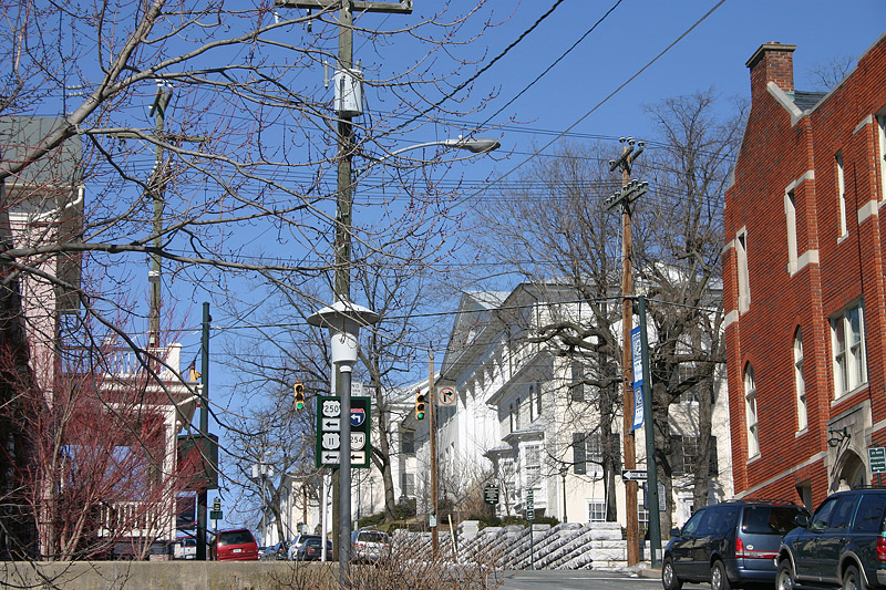 Corner of New and Frederick Streets