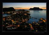 Alesund seen from Aksla