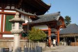 Nan-endu, the octagonal South Hall, originally built in 813 A.D., Kofuku-ji Temple
