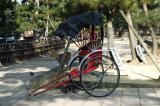 Hand-pulled rickshaw, Nara