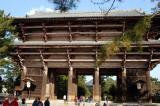 Nandaimon Gate, rebuilt 1199 A.D., Todai-ji Temple, Nara