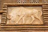 Black wildebeest, Voortrekker Monument