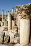 Ornate column, Jerash
