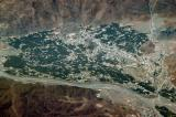 Aerial view of Rustaq, Oman