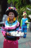 The vendor of fish food