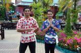 Greeters, Kamala Pier beer garden, Phuket FantaSea