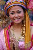 A beautiful Thai girl at Phuket FantaSea