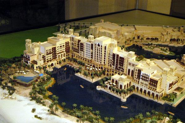 Architectural model of the Mina ASalam Hotel, Madinat Jumeirah