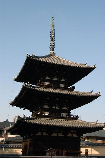 3-story pagoda from 1143, Kofuku-ji