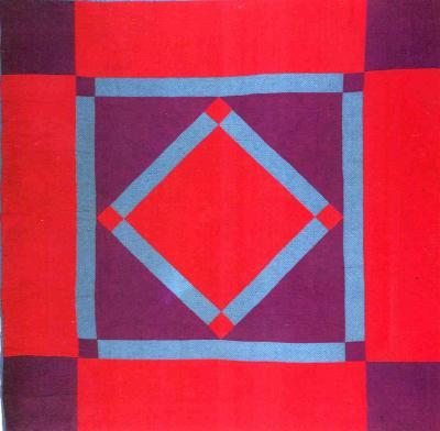 061:Center Diamond-Lancaster County PA c.1930  72x72