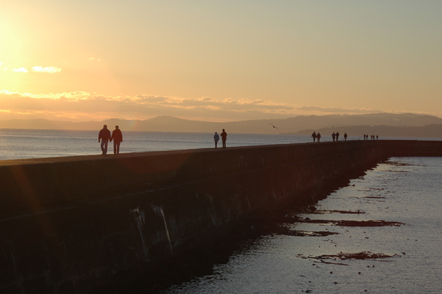 Seawall Sunrise