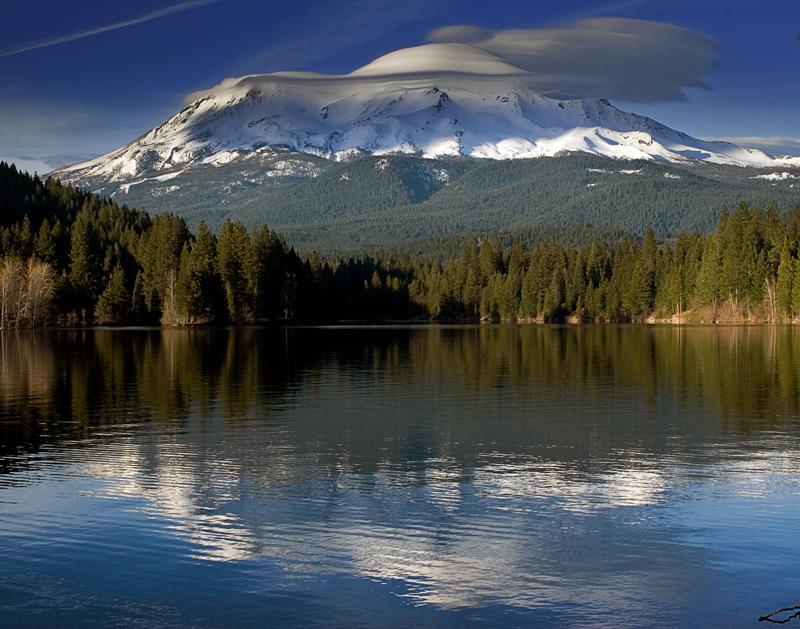 Lenticular Clouds over Shasta II