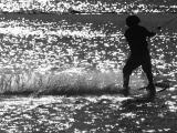 April 26 2005: Skier Silhouette