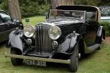 Classic car at Waddesdon