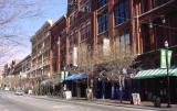 Quiet time on Nashville's Second Avenue