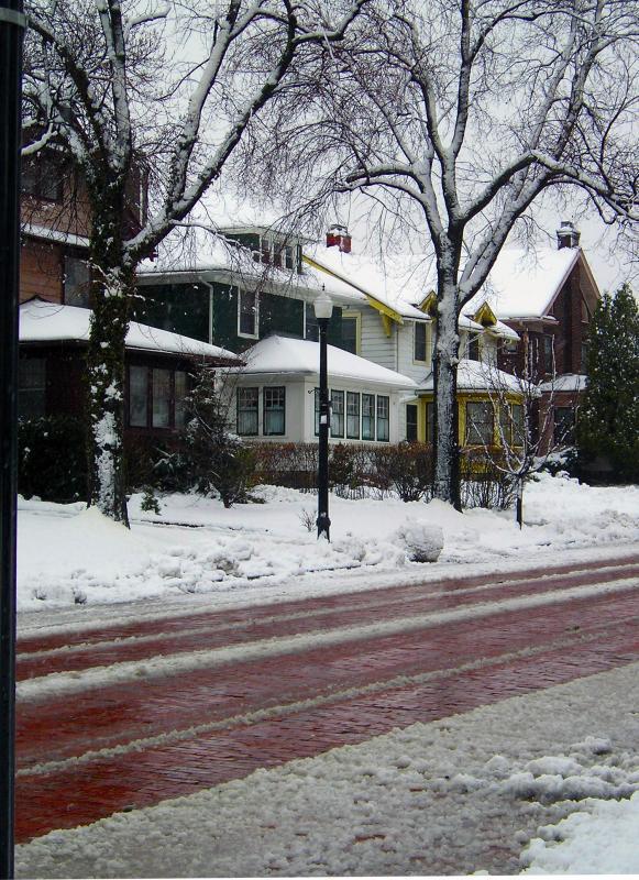 April 3 Snow Street