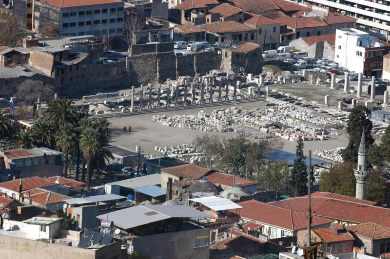 Izmir views from citadel