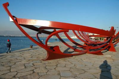 Izmir along the sea