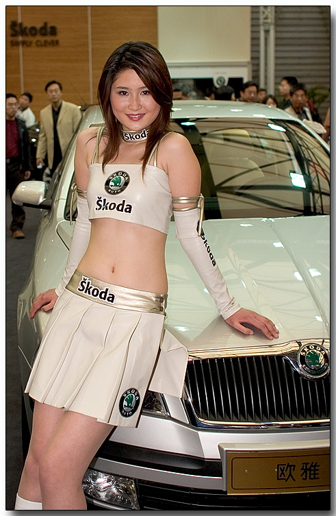 Auto Shanghai 2005 - Cars and Race Queens