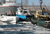 Sarnia Government Docks Winter