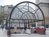 Belgrade metro station