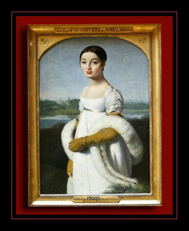 Portrait de Mademoiselle Rivière (1805) par INGRES