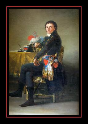 Ferdinand Guillemardet (1798) par GOYA