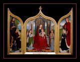 Triptyque de la famille Sedano (1490) par Gérard DAVID