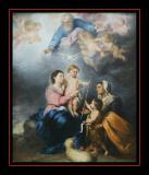 La Sainte Famille (1680) par MURILLO